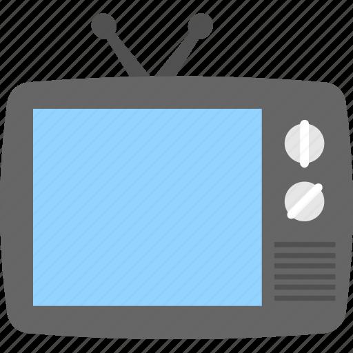 electronics, media, television, tv, tv set icon