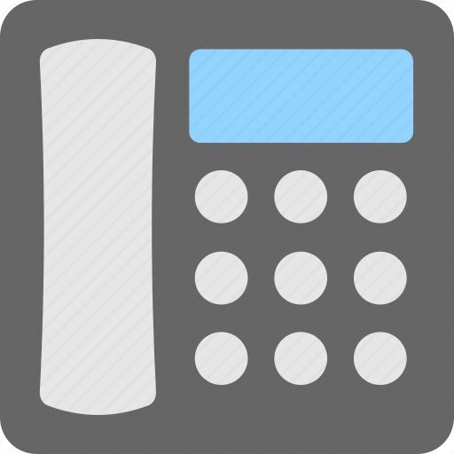 call, digital phone, landline, phone, telephone icon