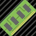 computer ram, hardware, memory, ram, storage icon