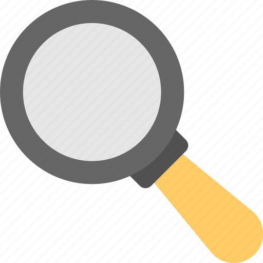 loupe, magnifier, magnifying lens, searching, zoom icon