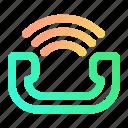 call, expand, gradient, media, multimedia, phone, telephone