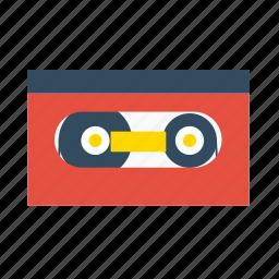 audio, cassette, multimedia, play, sound, vintage icon