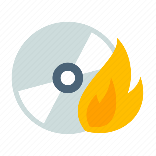 burn, burning, cd, disk, dvd, mount, multimedia icon