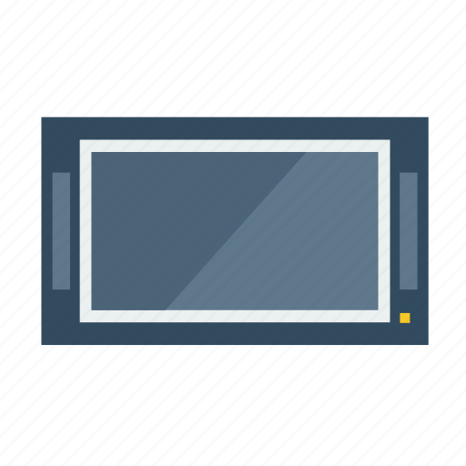 lcd, monitor, movie, multimedia, tv, watch icon