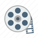 film, movie, multimedia, record, recording, video icon