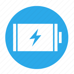 battery, charge, charging, electric, full, multimedia, power icon