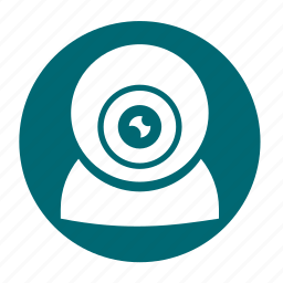cam, camera, multimedia, podcast, security icon