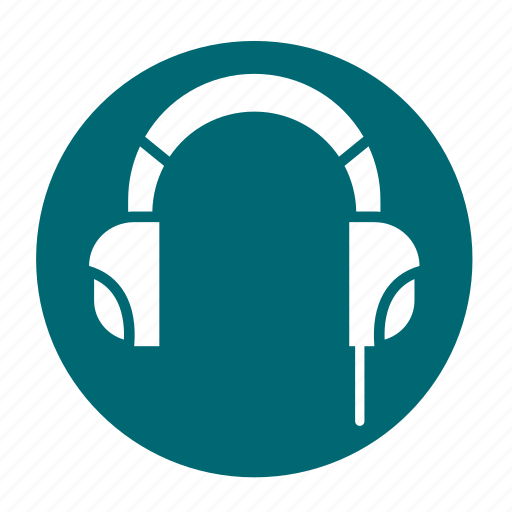customer, headset, multimedia, music, podcast, support icon