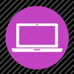 computer, digital, hardware, laptop, mac, multimedia, notebook icon