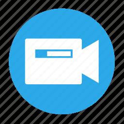 cam, camera, multimedia, record, recording, video icon