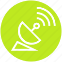 antenna, connect, internet, multimedia, satellite, signal, strength icon