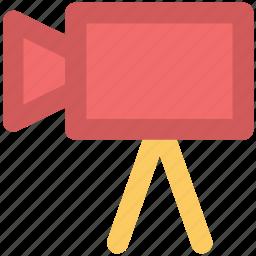 camera, camera device, film recorder, movie shoot, shoot, shooting, shooting camera icon