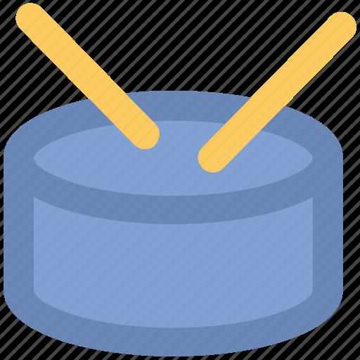 drum, drum and stick, instrument, multimedia, music, percussion icon