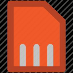 chip, data storage, microchip, microsd, multimedia, sd card, sd memory icon