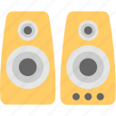 amplifier, music, speaker, subwoofer, woofer icon