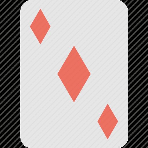 casino, diamond card, gambling, game, poker icon