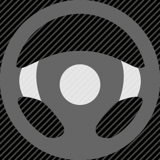 car steering, driving, steering, vehicle, wheel icon