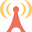 signals, communication, wifi, antenna, wifi tower icon