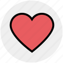 bookmark, favorite, heart, important, love, multimedia, rate icon