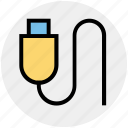 drive, flash, memory, multimedia, stick, usb, usb stick icon
