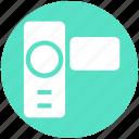 camcorder, camera, dslr, handycam, photography, video camera, video recorder icon
