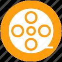 cinema, film, movie, multimedia, reel, theater, video icon
