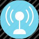 beacon, multimedia, radio, signal, wave, wifi icon