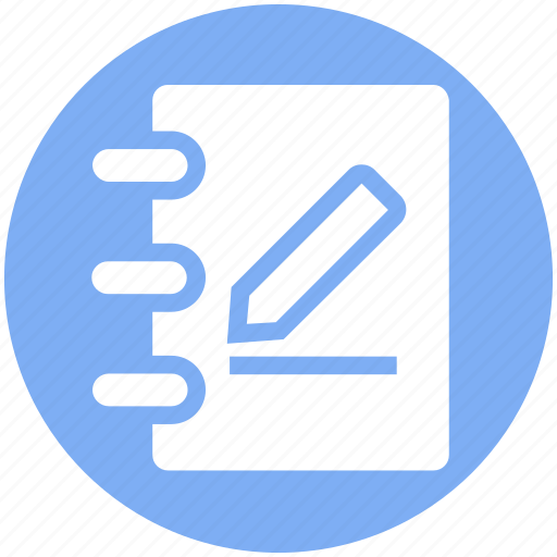 Book, document, multimedia, paper, pen, pencil, write icon - Download on Iconfinder