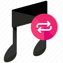 arrows, entertainment, media, multimedia, music, replay icon