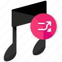 arrows, entertainment, media, multimedia, music, shuffle icon