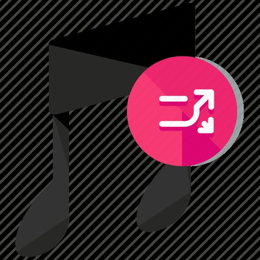 arrows, entertainment, media, multimedia, music, shuffle icon