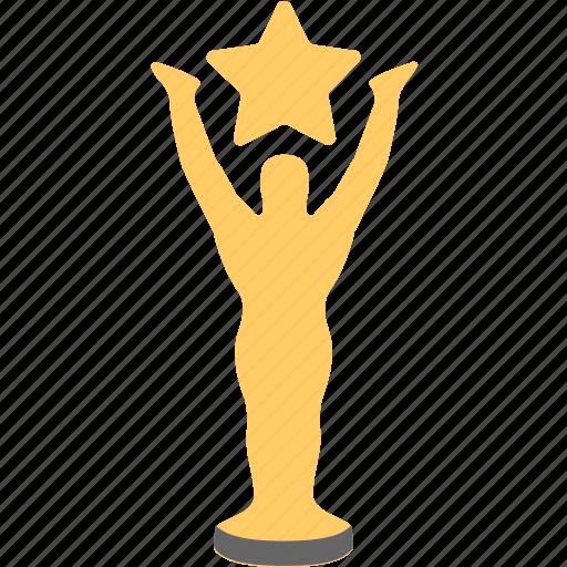 award, celebrity, prize, trophy, winner icon