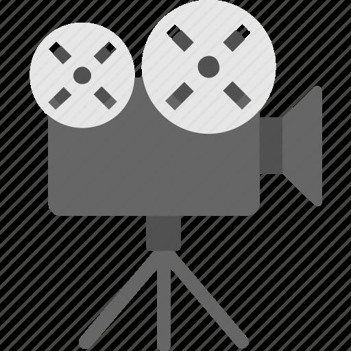 camera, film camera, multimedia, recording, video camera icon