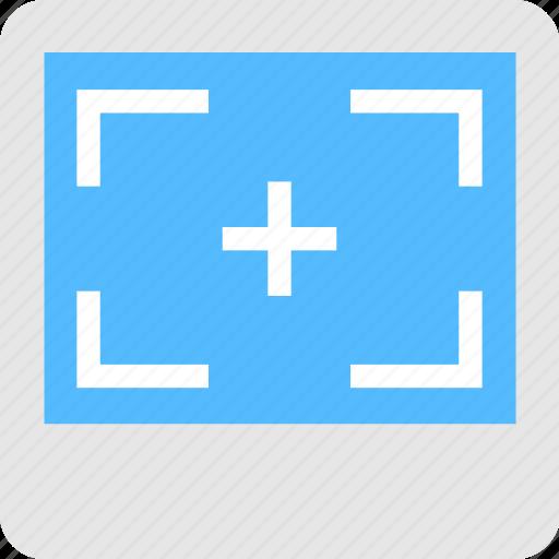 capture, crosshair, screenshot, selection, snapshot icon
