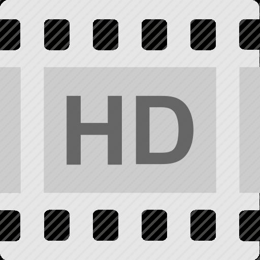 cinema, hd movie, movie, reel, video icon