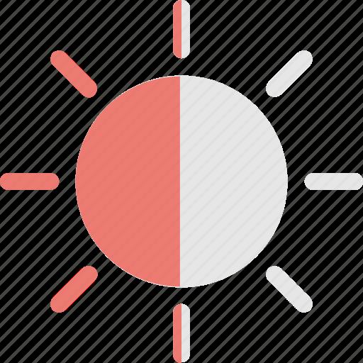 brightness, contrast, light, resolution, ui icon