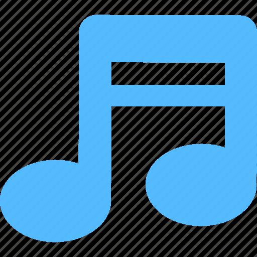 lyrics, music, music note, quaver, song icon