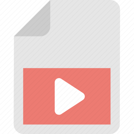 film, media, media file, video, video clip icon