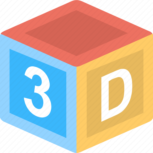 cube, design, model, shape icon