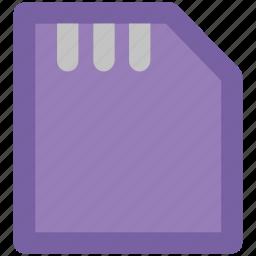 chip, chip card, gsm, memory card, micro sim, sim, sim card icon