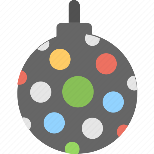 bauble, disco, disco light, lights, party icon