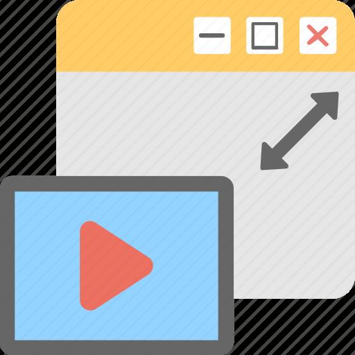 media, media player, movie, multimedia, streaming icon