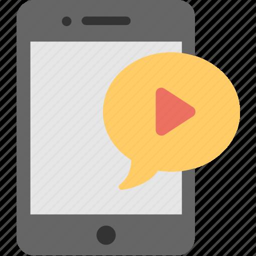 film, mobile, mobile video, movie, video icon