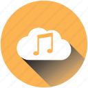 cloud, media, music, musickey, play, retro, television