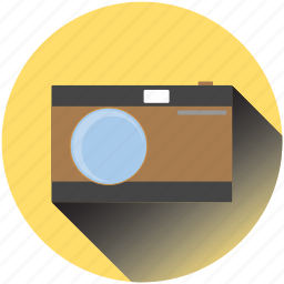 camera, electronics, media, multimedia, photocamera, retro, travel icon