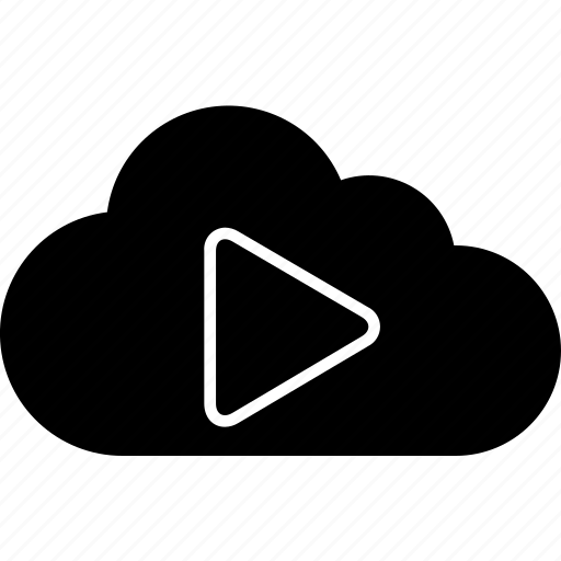 audio, cloud, media, multimedia, music, video icon