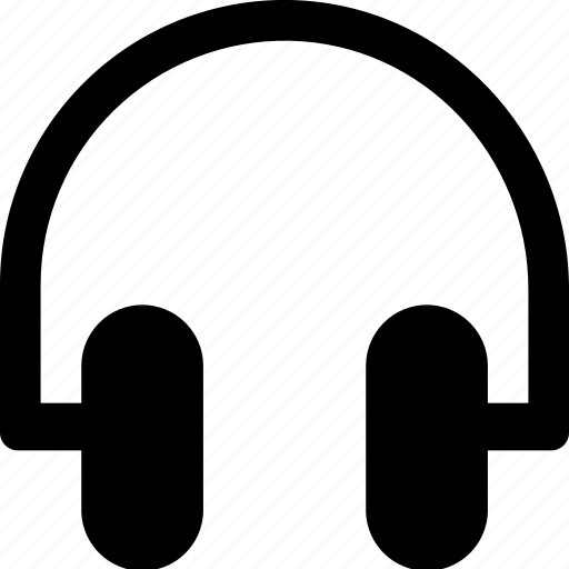 audio, headphones, media, multimedia, music, video icon