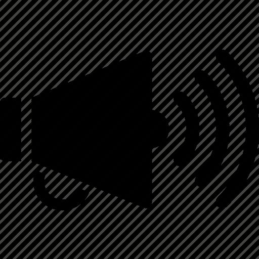 audio, loudspeaker, media, multimedia, music, video icon