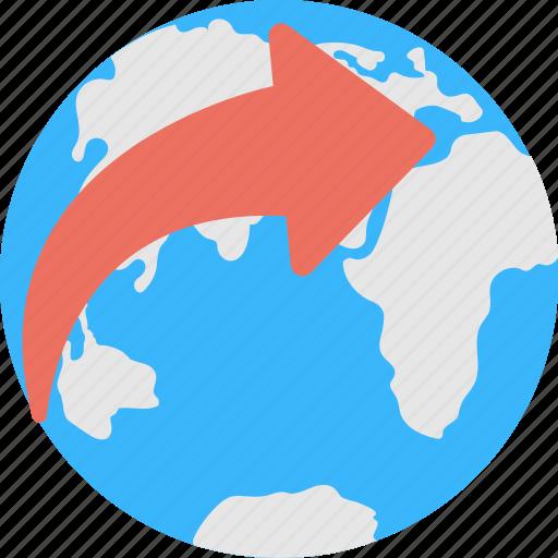 earth, globe, international, planet, worldwide icon