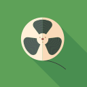 file, film, record, reel icon